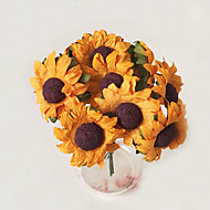 billige Kunstige blomster-1 Gren Andre Planter Bordblomst Kunstige blomster Hjem Dekor Bryllupsblomster