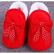 赤ちゃん 靴 コットン 秋 冬 コンフォートシューズ 赤ちゃん用靴 フラット 用途 カジュアル レッド ブルー ピンク