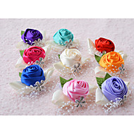 "Wedding Flowers Wrist Corsages Wedding Silk 2.36""(Approx.6cm)"