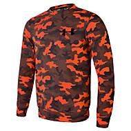 Herre Løbe-T-shirt Langærmet Hurtigtørrende Åndbarhed Letvægt Strækkende Svedreducerende T-Shirt for Løbe Afslappet Træning & Fitness