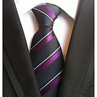 tanie Akcesoria dla mężczyzn-Męskie Praca / Podstawowy Krawat Prążki