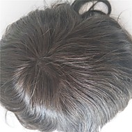 luonnolliset hiusrajan korvausjärjestelmät täysi swiss pitsi luonnollinen väri hiukset toupee miesten hiukset pala varastossa 130% tiheys