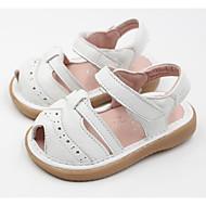 女の子 靴 本革 秋 冬 コンフォートシューズ サンダル 用途 カジュアル ホワイト