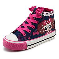 baratos Sapatos de Menina-Para Meninas Sapatos Lona Primavera Conforto Tênis para Azul Escuro / Azul Claro