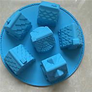 billige -Bakeware verktøy silica Gel baking Tool / Jul / GDS For kjøkkenutstyr / Til Brød / Til Sjokolade Cake Moulds