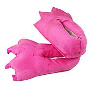 Voksne Kigurumi-hjemmesko Dinosaur Onesie-pyjamas polyester Bomuld Lys pink Cosplay Til Damer og Herrer Nattøj Med Dyr Tegneserie Halloween Festival / Højtider