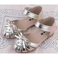baratos Sapatos de Menina-Para Meninas Sapatos Couro Ecológico Primavera / Outono Conforto Sandálias para Dourado / Roxo / Rosa claro