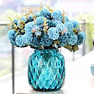 2 gren plast tusenfryd bordplaten blomst kunstige blomster multicolor valgfritt