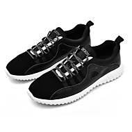 cheap Extended-Size Shoes-Men's Shoes Rubber Fall Comfort Athletic Shoes Lace-up for Outdoor Black Gray