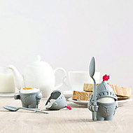 katona alakú tojástartó környezetbarát konyha reggeli kemény, forralt műanyag tojás pohár keret