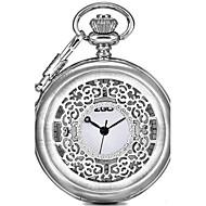 남성용 회중 시계 패션 시계 석영 합금 밴드 블랙 실버 브론즈
