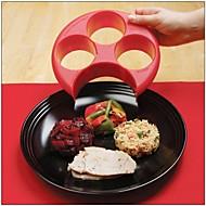 gezonde rode maaltijd maatregel perfect portie gewicht controle plaatje dieet afslanken naturaliseren beheren