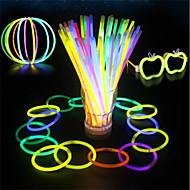 Glow stick schijnt voor vakantie en feest decoraties frisse stijl