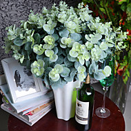 3 bouquet/lot artificial eucalyptus leaf Green plant branches Flower