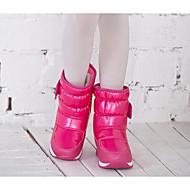 בנות נעליים PU חורף מגפי שלג מגפיים עבור קזו'אל שחור סגול פוקסיה
