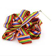 1kpl design tanssi nauha kuntosali rytminen voimistelu rod taide baletti twirling keppi väri satunnainen