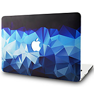 "MacBook ケース のために 幾何学模様 ポリカーボネート 材料 新MacBook Pro 15"" 新MacBook Pro 13"" MacBook Pro 15インチ MacBook Air 13インチ MacBook Pro 13インチ MacBook Air"
