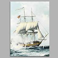 billiga Landskapsmålningar-Hang målad oljemålning HANDMÅLAD - Landskap Artistisk Klassisk Modern Duk