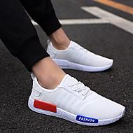 baratos Sapatos Masculinos-Masculino sapatos Primavera Conforto Caminhada para Casual Branco Cinzento