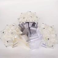 """زهور الزفاف باقات زفاف البوليستر / الفوم 9.84""""(Approx.25cm)"""