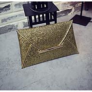 tanie Kopertówki i torebki wieczorowe-Damskie Torby Poliwęglan Kopertówka Kieszonki na Na każdy sezon Champagne Gold Black