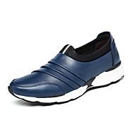 Bărbați Pantofi Nappa Leather Primăvară Toamnă Confortabili Mocasini & Balerini Volane Pentru Casual Party & Seară Negru Rosu Albastru