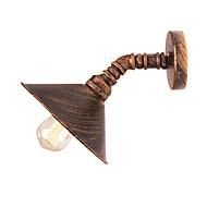 Χαμηλού Κόστους Μοντέρνα Φωτισμός-OYLYW Mini Style Ρουστίκ / Εξοχικό / Πεπαλαιωμένο / Βίντατζ Λαμπτήρες τοίχου Σαλόνι / Υπνοδωμάτιο Μέταλλο Wall Light 110-120 V / 220-240 V 60 W / E26 / E27