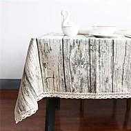 Rektangulær Kvadrat Trefiber Duge Materiale Hjem Hotel Middagsbord Tabell Dceoration Dekorasjoner til hjemmet 1