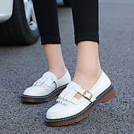 cheap Women's Shoes-Women's Shoes PU(Polyurethane) Spring / Fall Mary Jane Oxfords White / Black / Yellow