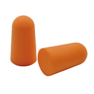 5 pares viajam tampões de ouvido macios pacote de saco de plástico de cor aleatória