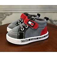 男の子 靴 スエード 秋 冬 コンフォートシューズ スニーカー 用途 カジュアル グレー アーミーグリーン