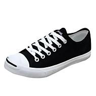 tanie Obuwie męskie-Męskie Komfortowe buty Materiał Wiosna, jesień, zima, lato Adidasy Biały / Czarny / Czerwony