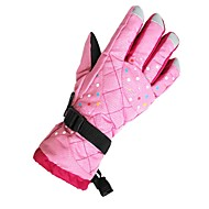 Skihandschoenen Dames Lange Vinger Houd Warm Andere Materiaal Skiën Winter