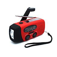 HY-088WB FM AM Prijenosni radio Solar Power Baterijska svjetiljka Crn Crvena Plava