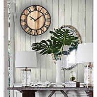 Tema Bohemian Tema vintage Relógio de parede,Redonda Interior Relógio