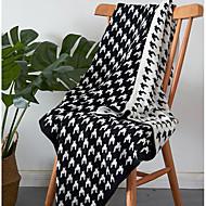 Superweich Schottenstoff/Kariert Polyester Decken