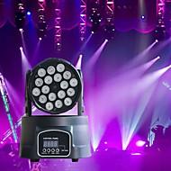Χαμηλού Κόστους Φώτα σκηνής-U'King Φώτα Σκηνής LED Φώτα PAR LED DMX 512 Master-Slave Ενεργοποίηση με  Ήχο Auto 180 για Κλαμπ Γάμος Σκηνή Πάρτι Επαγγελματικό Υψηλή