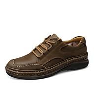 Muškarci Cipele Koža Mekana koža Proljeće Ljeto Cipele za ronjenje Udobne cipele svečane cipele Oksfordice za Kauzalni Ured i karijera