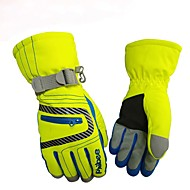 Winter Handschoenen Skihandschoenen Heren Dames Lange Vinger Houd Warm waterdicht Nylon Sneeuwsporten Winter