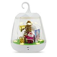 LED照明 クリスマスギフト クリスマスツリー飾り おもちゃ クリスマス 休暇 計時 リモコン付き サウンドセンサー付き LEDライト付きケース 新年 サンタクロース 成人 1 小品