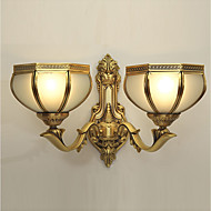 billige Vegglamper-Moderne / Nutidig Vegglamper Innendørs / Garage Metall Vegglampe 110-120V / 220-240V 40W