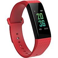 tanie Inteligentne zegarki-Inteligentne Bransoletka B12 na iOS / Android Pomiar ciśnienia krwi / Spalone kalorie / Ekran dotykowy / Rejestr ćwiczeń / Śledzenie odległości Pulsometr / Krokomierz / Powiadamianie o połączeniu