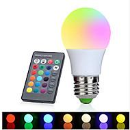 1set 3W E27 LED-globepærer 1 leds Høyeffekts-LED Dekorativ RGB 350-380lm 2700-6500K AC 85-265V