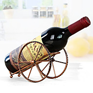 prateleiras de vinhos de chapa artesanais práticos porta de vinho exibir acessórios de barra de prateleira