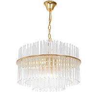 cheap Chandeliers-Rustic/Lodge LED Modern/Contemporary Crystal Bulb Included Designers Pendant Light Ambient Light For Bedroom Study Room/Office Indoor