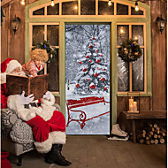 Natal Adesivos de Parede Autocolantes de Aviões para Parede Autocolantes de Parede Decorativos Material Decoração para casa Decalque