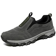 cheap Men's Slip-ons & Loafers-Men's Fashion Boots Faux Leather / Cowhide Winter Comfort Loafers & Slip-Ons Black / Gray / Blue