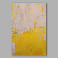 cheap Discount Paintings-Oil Painting Hand Painted - Abstract Modern Canvas