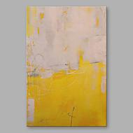 baratos -Pintados à mão Abstrato Vertical,Modern 1 Painel Tela Pintura a Óleo For Decoração para casa