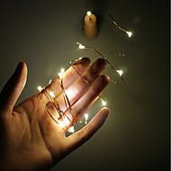 2m 20 led fio de cobre fio luz com garrafa rolha para vidro artesanal garrafa fada valentim casamento decoração lâmpada festa bateria 3 *